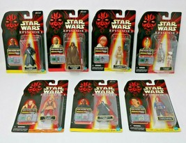 Star Wars Episode 1 Action Figure CommTech Chip Lot of 7 Factory Sealed - $34.16