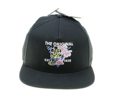 Vans Mickey Mouse Black 90th Anniversary Dad Hat Cap Adj Snapback NWT - $19.79