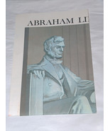 1970 Abraham Lincoln's Gettysburg Address Reproduction co US Disabled Ve... - $12.85