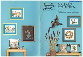 MALLARD COLLECTION - CROSS STITCH BOOK  (1981) - $7.87