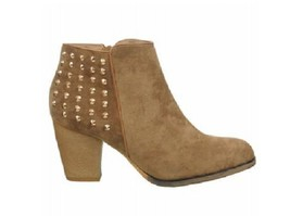 Wanted Shoes Women's Newman Ankle Boot,Tan,10 M US - $52.60 CAD