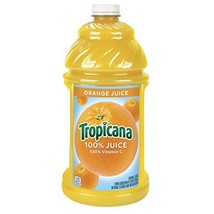 Tropicana Orange Juice, 96 oz Bottles Pack of 6 - $75.89