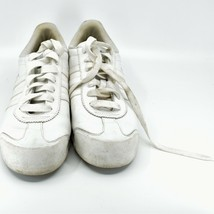 Adidas Samoa Women's White Lace Up Athletic Sneaker Shoes Size 10 G20682 image 2