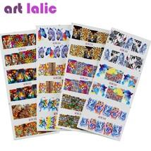 ArtLalic® 12pcs/lot 3D Tiger Zebra Animal Nail Stickers DIY Nail Art Decor - $4.18