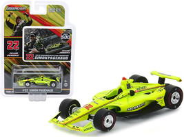 "Dallara Indy Car #22 Simon Pagenaud ""Menards\"" Team Penske Indianapolis 500 Cha - $16.88"