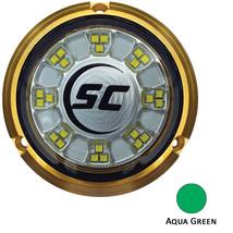 Shadow-Caster SCR-24 Bronze Underwater Light - 24 LEDs - Aqua Green [SCR-24-AG-B - $563.08