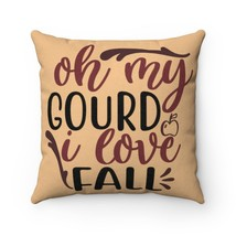 I Love Fall Faux Suede Pillow - Harvest Yellow - $31.05+