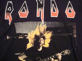 Rondo Guitar Concert Tour Heavy Metal Black T Shirt S - $7.91