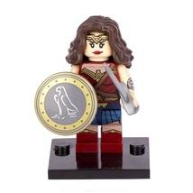 Unbranded Wonder Woman Minifigure Batman VS Superman Fits with Lego UK S... - $3.49