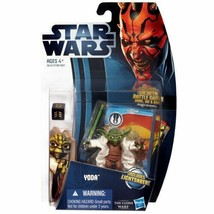 Star Wars 2012 Clone Wars Animated Action Figure CW No. 05 Yoda - $23.82