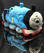"2013 Mattel Plush 14"" Goodnight Bedtime Thomas Tank Train Engine Toy Blue Pillow - $14.34"