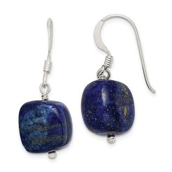 Primary image for Lex & Lu Sterling Silver Blue Sodalite Earrings