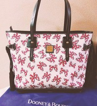 DOONEY&BOURKE Disney Collaboration Tote bag Minnie Mouse Ribbon shoulder... - $266.31