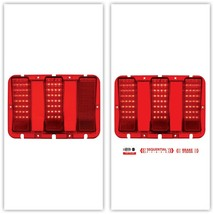 United Pacific 110106-2 67-68 Ford Mustang Red Sequential LED TailLight ... - $199.99