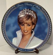 RARE Diana Princess of Wales 96-97 Fine Porcelain Collectors Plate Frank... - $39.59