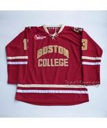 Boston College #13 Johnny Gaudreau NCAA Kowell Premier Stitched Hockey Jersey - $69.98