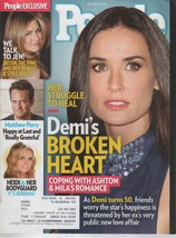 People Magazine October 29, 2012  Demi-Heidi-Jen- Matthew Perry - $1.50