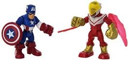 Playskool Heroes Super Hero Adventures Captain America & Marvels Falcon Toy - $17.35