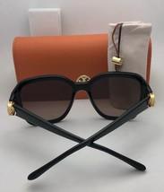 New TORY BURCH Sunglasses TY 7101 1377/13 Black Frame w/ Brown Gradient Lenses
