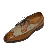 Ralph Lauren Men Brown/Beige Oxford Shoes Size 9 - $296.95