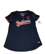 Mothers Day Cleveland Indians MLB Women Shirt Metallic Graphic SzM New With Tags - $23.04