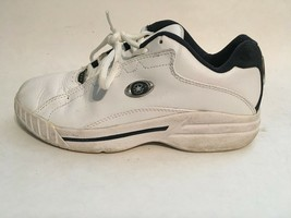 Converse All-Star Womens White Leather Athletic Running Walking Shoes sz 5 - $12.16