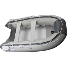 10.8 ft Inflatable Boat Raft Fishing Dinghy Tender Pontoon+ FREE Launching wheel image 2