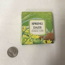 Spring Days By Patricia Casey Miniature According Folded Lift A Flap Book - $19.79