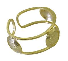 splendiferous Plain Gold Plated multi Bangle Fashion Designer US - $13.16