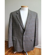 Jack Victor E Thomas 44 Houndstooth Check Tweed Wool Cashmere Blazer Sui... - $77.90