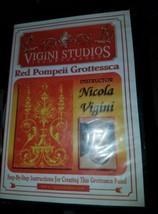 Red Pompeii Grottesca - Nicola Vigini [New and ... - $39.55