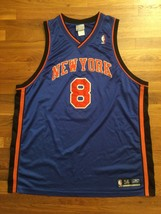 Authentic 2003 Reebok New York Knicks Latrell Sprewell Road Blue Jersey ... - $309.99