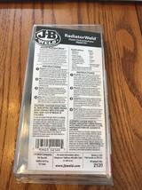 J-B Weld 2120 RadiatorWeld Plastic Tank & Radiator Repair Kit Ships N 24h - $32.65