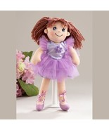 Delton Products Ballerina Doll Soft Cloth Doll with Purple Removable Tut... - $29.99