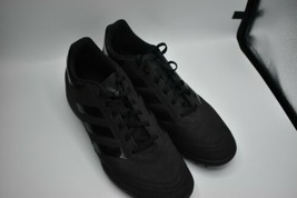 adidas Black Astro Turf Football Trainers Mens Soccer Shoes Sneakers UK size 10 - $32.20