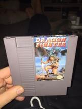 Dragon Fighter (Authentic, Nintendo NES 1992) AUTHENTIC & Rare - $280.57
