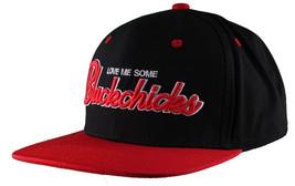 Rocksmith Black Red Love Me Some black Chicks Snapback Baseball Hat Cap NWT image 2