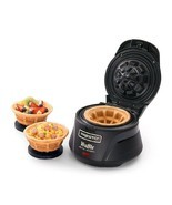 Belgian Waffle Bowl Maker Electric Iron Press Kitchen Counter Top Non St... - €33,93 EUR