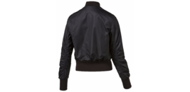 Puma Women's Active Iridescent Black Bomber Jacket - Size S image 2