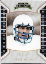 2011 Press Pass Legends Silver #68 Steve Young 7/175 49ERS Free Shipping - $1.89