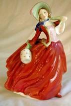 "Royal Doulton 1960 Autumn Breezes 8"" Tall Figure #4N-1934 - $48.50"