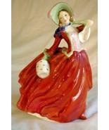 "Royal Doulton 1960 Autumn Breezes 8"" Tall Figure #4N-1934 - $44.09"