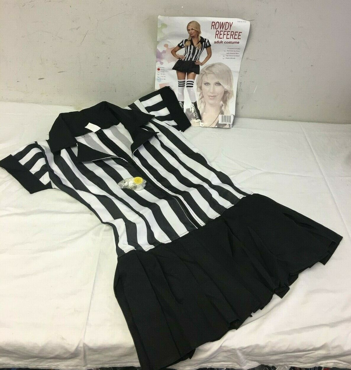 Primary image for Rowdy Referee Womens Costume