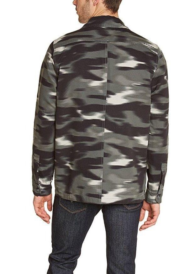 Oakley Men's The Dawn Shacket Shirt Jacket, Shadow, Size SMALL BNWT $110