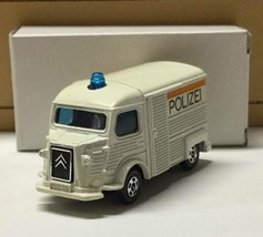 Out of print Tomica Citroen H track police car blue box foreign car series Rare! - $212.84