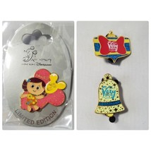 Disney Hong Kong Disneyland Limited Edition Trading Pin 9th Anniversary + Bonus - $21.99