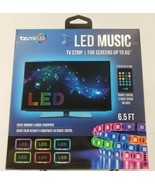"""NEW Tzumi TV LED Strip For Screens Up To 65"""" Includes Remote Adhesive Ba... - $14.97"""