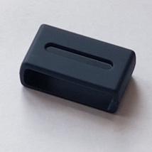 Casio Watch Strap Keeper Loop Hoop 20mmX5mm Rubber Blue GA-2110ET-2A Hol... - $6.60