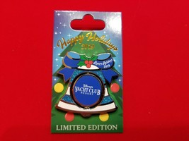 Disney Pin Happy Hoidays 2019 Resort Bell Yacht Club Mickey Minnie Mouse... - $24.99