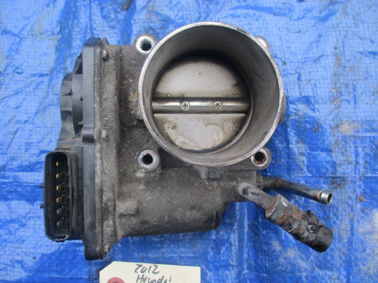 2012 Hyundai Elantra 1.8 NU10 throttle body assembly engine motor OEM electronic image 2